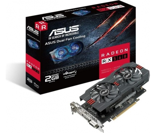 VGA Asus RX560-2G 2GB DDR5