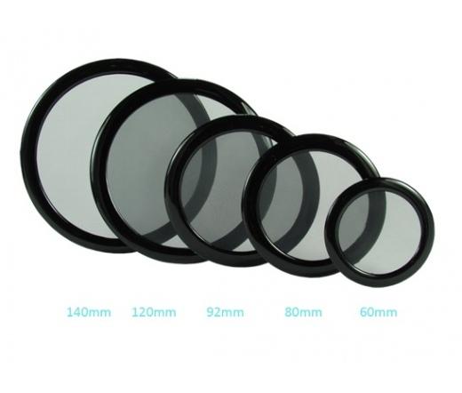 DEMCIFLEX Round Dust Filter 92mm Fekete/Fehér