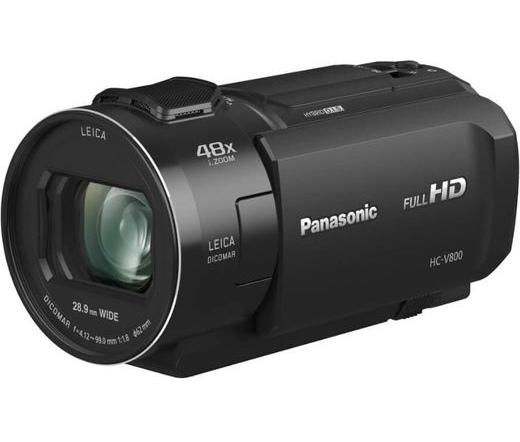 PANASONIC HC-V800EP-K Full HD Videókamera fekete