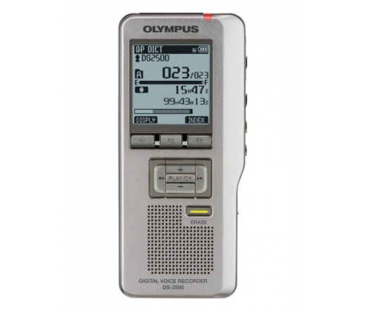 OLYMPUS DS-2500 (Ni-MH akkumulátor, USB kábel, tok, DSS Player Standard Software, 2GB SD)