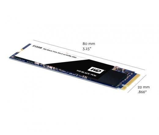 SSD WD Black PCIe M.2 256GB