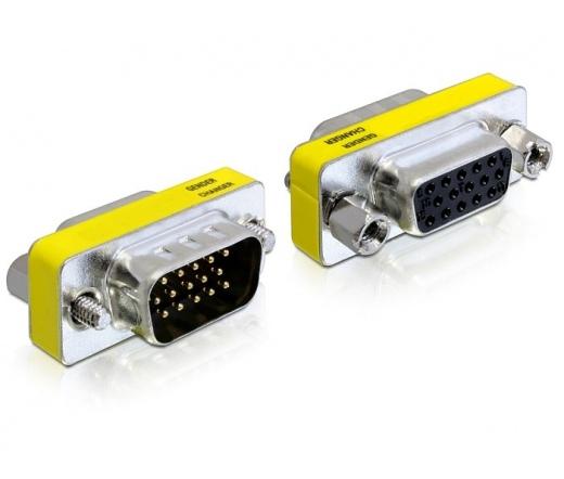 DELOCK Adapter VGA male / female (65250)