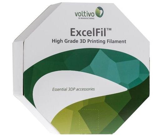 Voltivo ExcelFil 3D PLA 3mm white