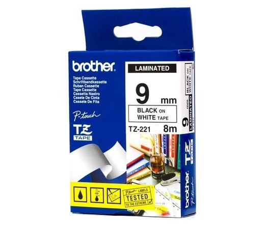 BROTHER P-touch TZe-221 laminált szalag