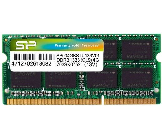 SO-DIMM DDR3 4GB 1333MHz Silicon Power SS CL9