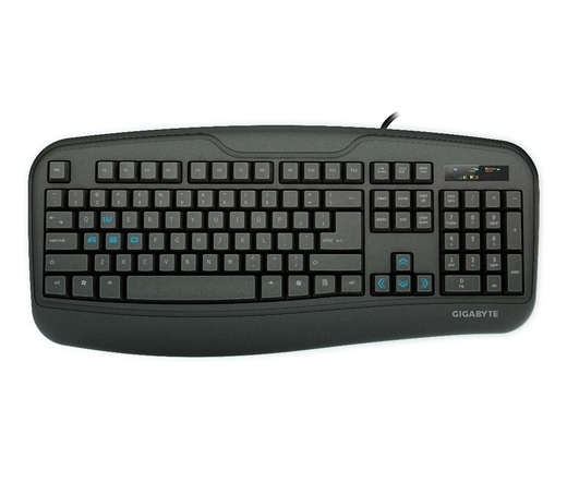 GIGABYTE KEYBOARD GK-Force K3 USB Fekete