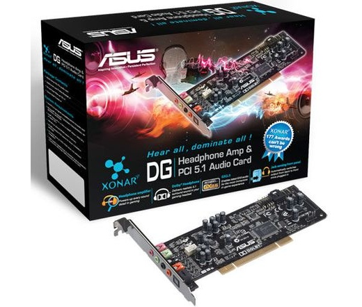 SOUND CARD ASUS XONAR DG PCI