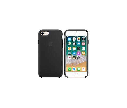 Apple iPhone 7/8 Silicon Case Black