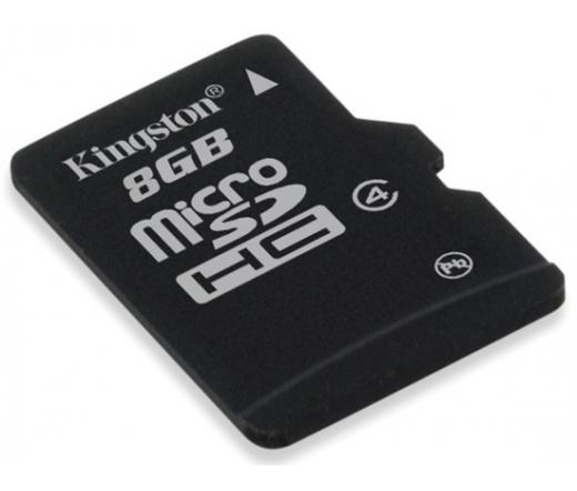 Card MICRO SD Kingston 8GB 1 Adapter CL4