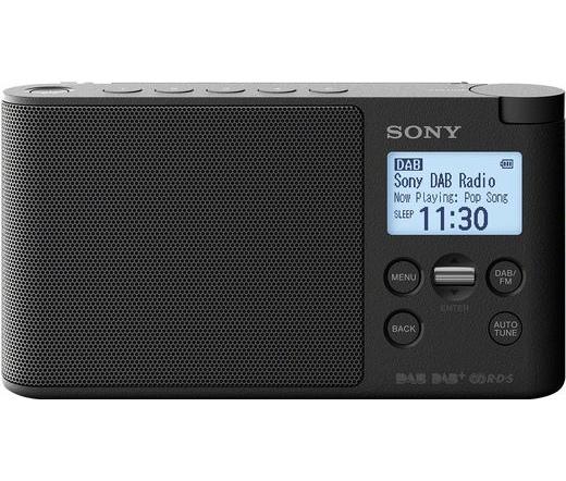 Sony XDR-S41D (Fekete) DAB rádió