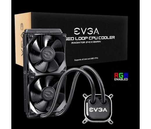 EVGA CLC 240 RGB Komplett Vízhűtés 240mm