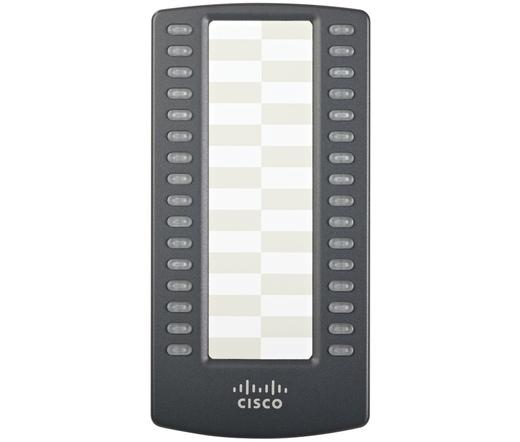 TEL CISCO SPA500S programozható kezelőfelület SPA5xx sorozathoz