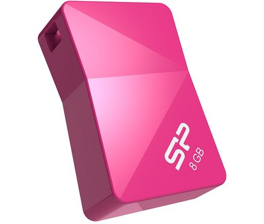 Pendrive 8GB Silicon Power Touch T08 Pink USB2.0