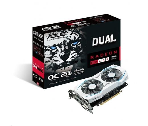 VGA Asus DUAL-RX460-O2G-GAMING 2GB DDR5
