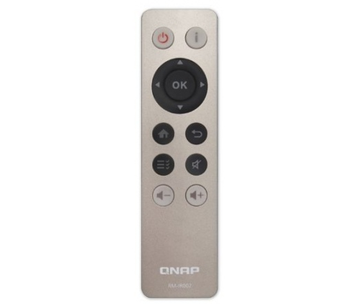 QNAP Infrared (IR) remote control for HS-251, TS-x51, TS-x70, TS-x70Pro, TS-x69Pro, TS-x69L