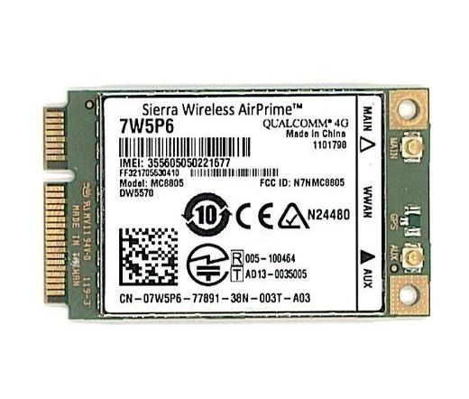 NET DELL Wireless 5570 Card 3G/HSDPA MiniCard
