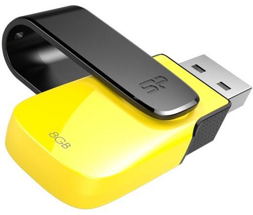 Pendrive 8GB Silicon Power Ultima U31 Yellow USB2.0