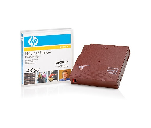 HP ADATKAZETTA LTO Ultrium 400GB (C7972A)