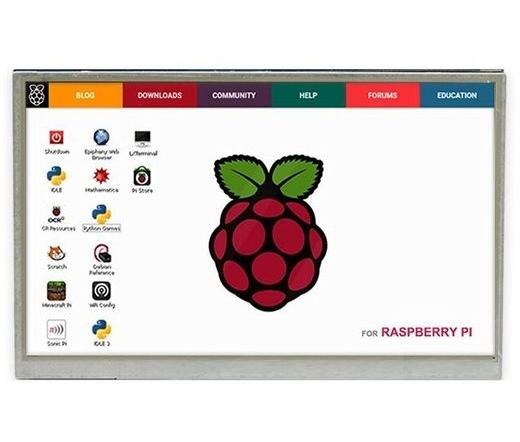 "Raspberry Pi TFT Display 5"" Touch"