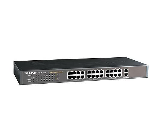 NET TP-LINK TL-SL1226 10/100 + 2 GIGA RACKMOUNT SWITCH 24 port