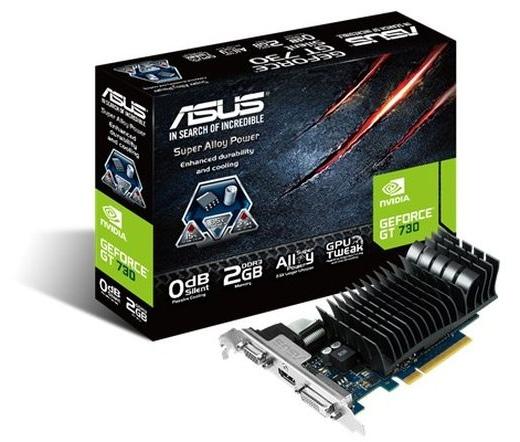 VGA ASUS GT730-SL-2GD5-BRK Silent 2GB DDR5
