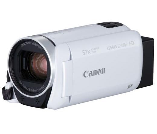 Canon LEGRIA HF R806 digitális videokamera Fehér