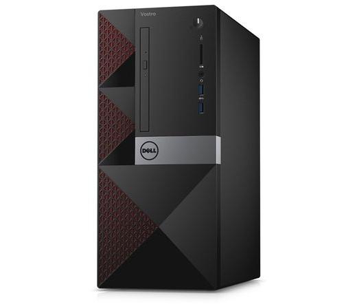 PC DELL Vostro 3668 MT (i3-7100 4GB 500GB Linux + WLAN + BT + bill + egér)
