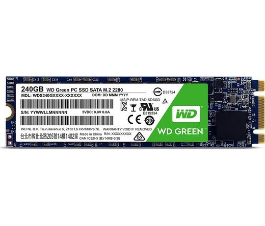 SSD WD Green M.2 2280 240GB