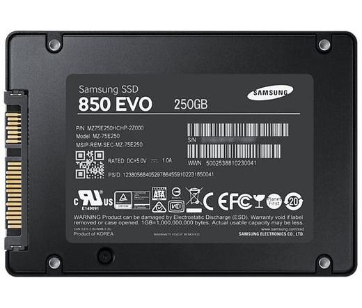 "SSD SATA 2,5"" SAMSUNG 250GB 850 EVO Series"