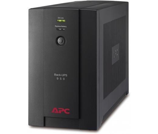APC Back-UPS BX950UI (6 IEC13) 950VA (390 W) 230V, LINE-INTERACTIVE szünetmentes tápegység, torony, USB