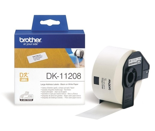 BROTHER P-touch DK-11208 címke
