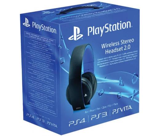 SONY PS4 Wireless Stereo Headset Fekete
