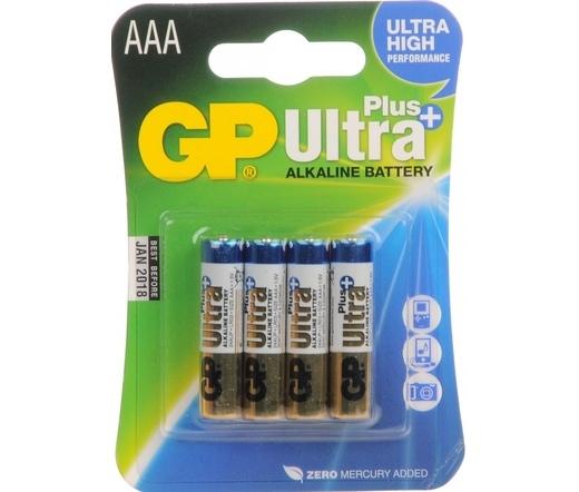 GP Ultra Plus Alkáli AAA Elem (4db)