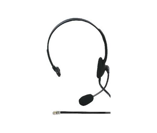 König mikrofonos mono fejhallgató RJ9