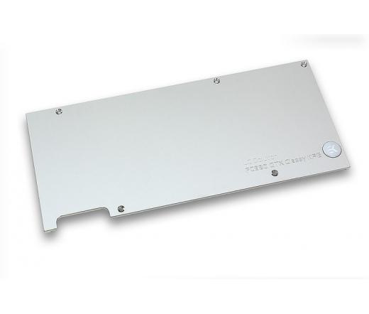 EK Water Blocks EK-FC980 GTX Classy KPE Backplate - Nickel
