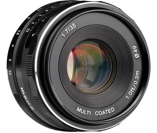 MEIKE / ALPHA DIGITAL Lens Meike MK-35mm F1.7 Nikon 1-mount