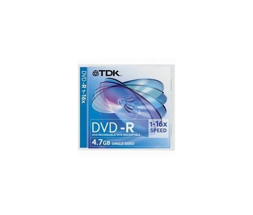 DISC TDK DVD-R 4,7GB 16X Slim tok