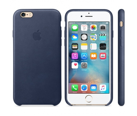 Apple iPhone 6s Leather Case Midnight Blue