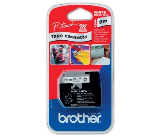 BROTHER P-touch MK-221BZ nem laminált műanyag szalag