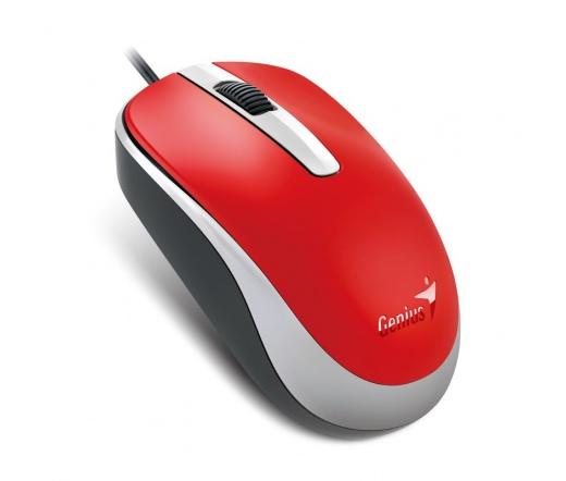GENIUS MOUSE DX-120 USB piros