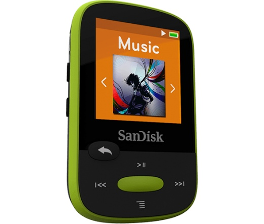 MP3 SANDISK Clip Sport 8GB Green