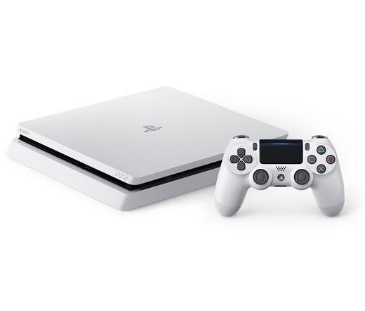 SONY PS4 Slim Konzol 500 GB fehér