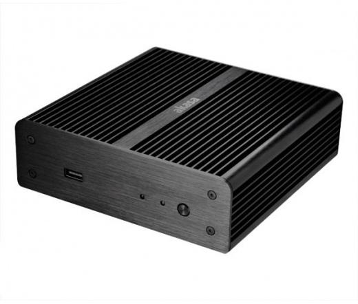 HÁZ AKASA Newton Fanless Mini-ITX OEM Fekete