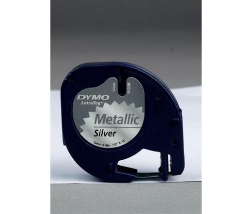 DYMO Letratag ezüst 12mm x 4m