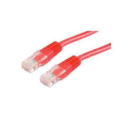 Kábel ROLINE UTP CAT5e patch 0,5m piros