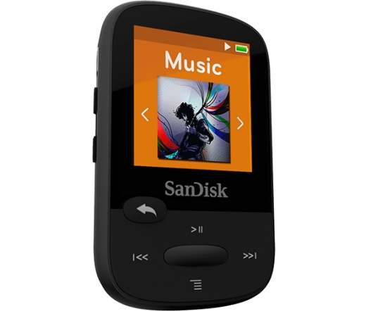 MP3 SANDISK Clip Sport 8GB Black
