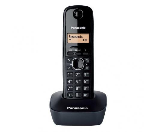 TEL Panasonic KX-TG1611PDH Dect Telefon fekete