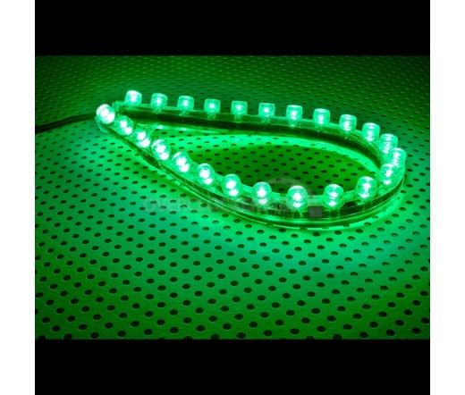 Lamptron FlexLight Standard - 24 LEDs - Méreg Zöld