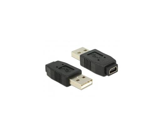 DELOCK Adapter Gender Changer mini USB-B 5-pin female -> USB-A male (65094)