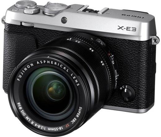 FUJIFILM FINEPIX X-E3 + 18-55mm Ezüst Kit